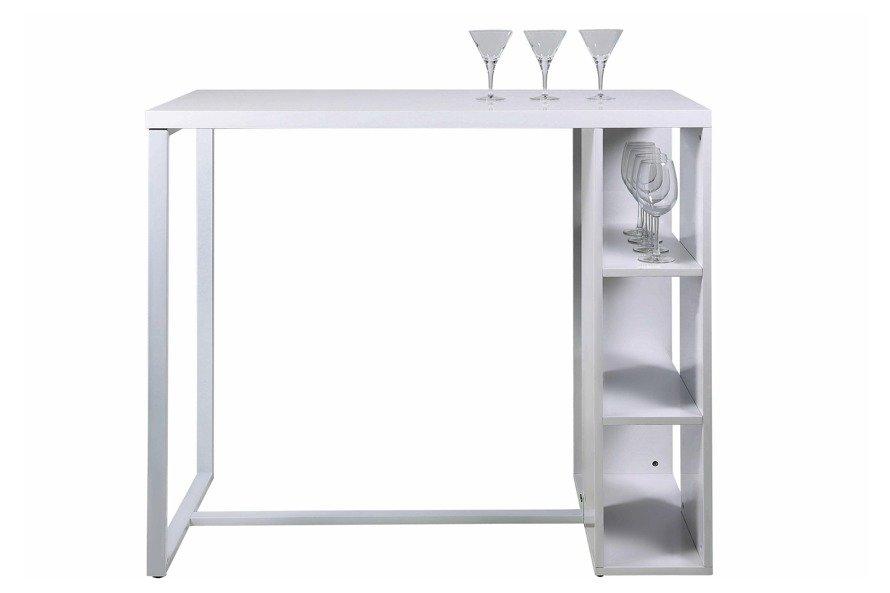 Avocet Stół barowy Biały
