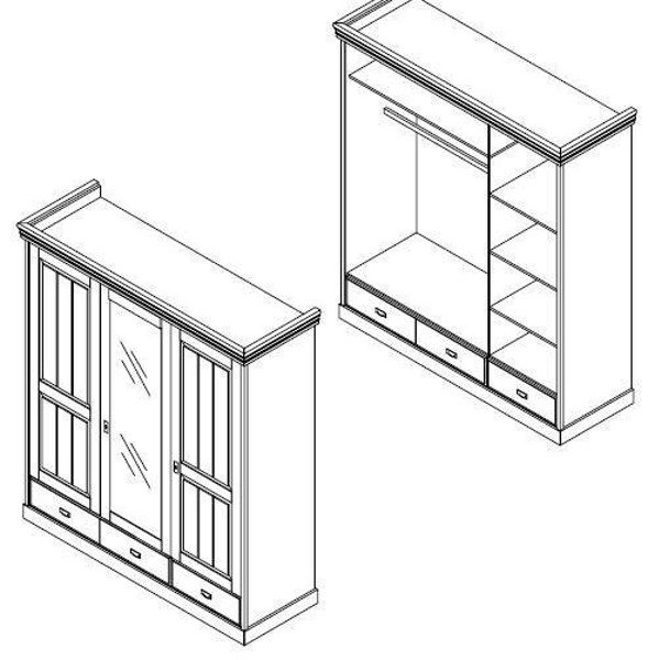 Dori Szafa 3D drewniana