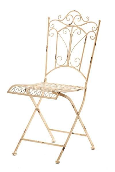 Krzesło metalowe JARDIN_Aluro