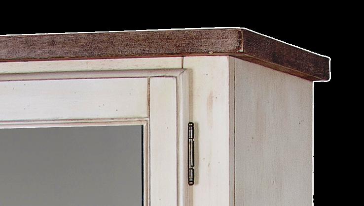 Limena 813 Witryna z lustrem w stylu francuskim