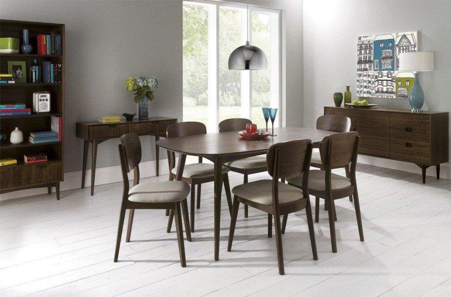 Oslo Walnut 17-2 Krzesło tapicerowane