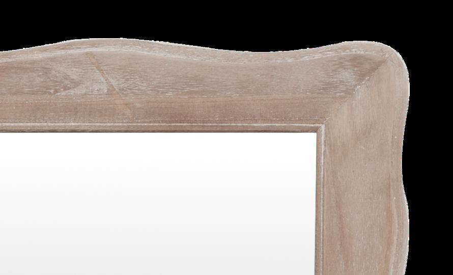 Pesaro 054 Lustro postarzane bielone stylizowane