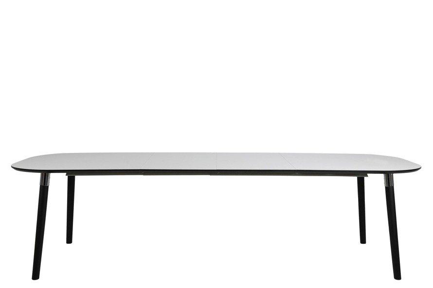 Pippolo Stół jadalniany  Czarny Biały