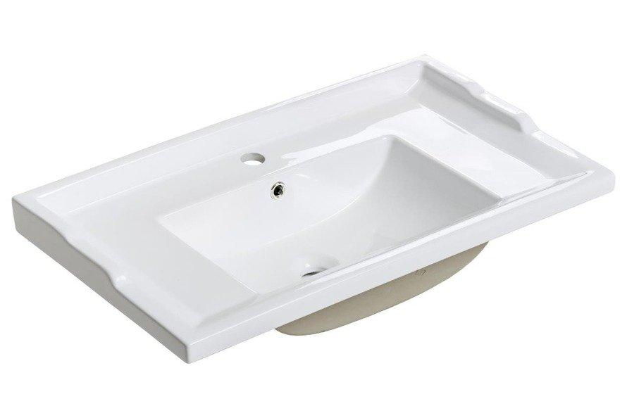 Umywalka ceramiczna Retro 80 cm