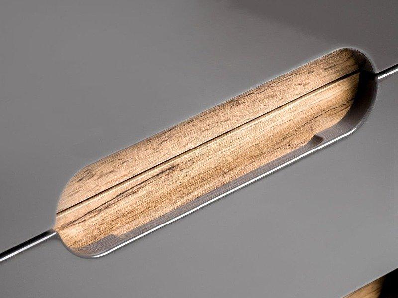 Zestaw mebli łazienkowych Bali szary 60 cm
